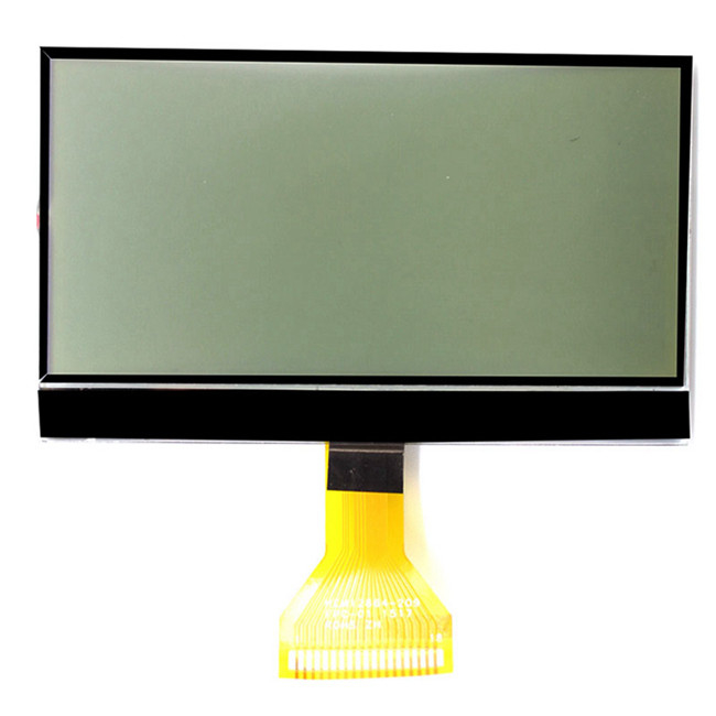 12864 resolution custom monochrome lcd display for pos machine